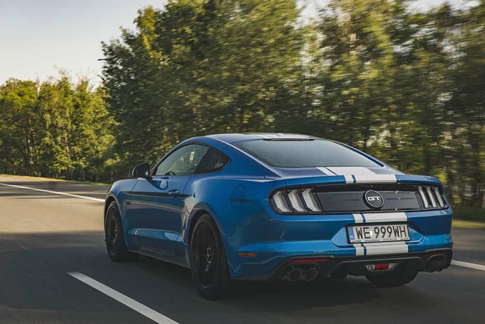wydech ford mustang