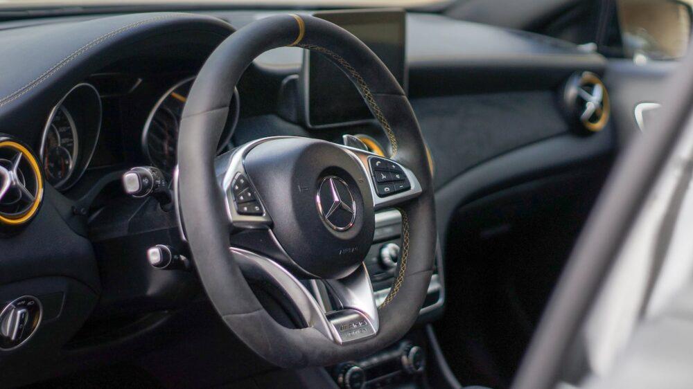 kierownica Mercedes A45 AMG