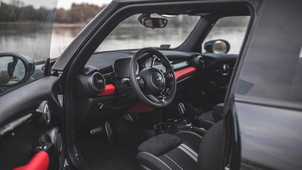 wnętrze Mini Cooper S JCW